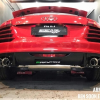 2018 audi tt mk2 8j armytrix valvetronic exhaust performance tuning upgrade price mods review