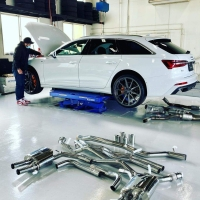 audi a7 c8 armytrix exhaust
