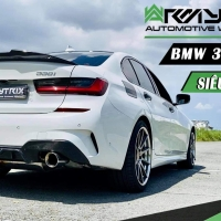 bmw G20 330i armytrix exhaust valvetronic