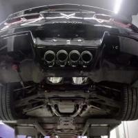 corvette c7 armytrix valvetronic exhaust