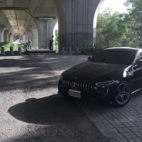 Mercedes-AMG GT53 4 door coupe armytrix valvetronic exhaust