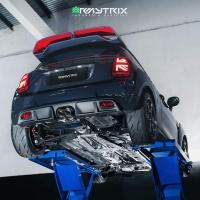 mini jcw armytrix full turbo back exhaust