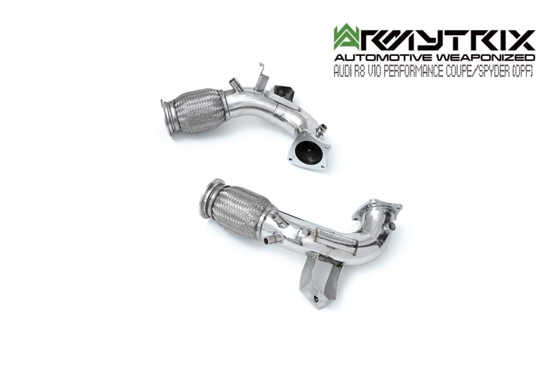 Audi   R8   MKII V10 performance Armytrix exhaust system