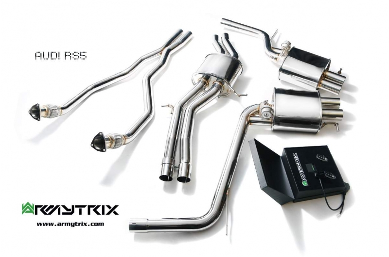 Audi Rs5 B8 V8 Armytrix Exhaust Mods Best Tuning Review Price