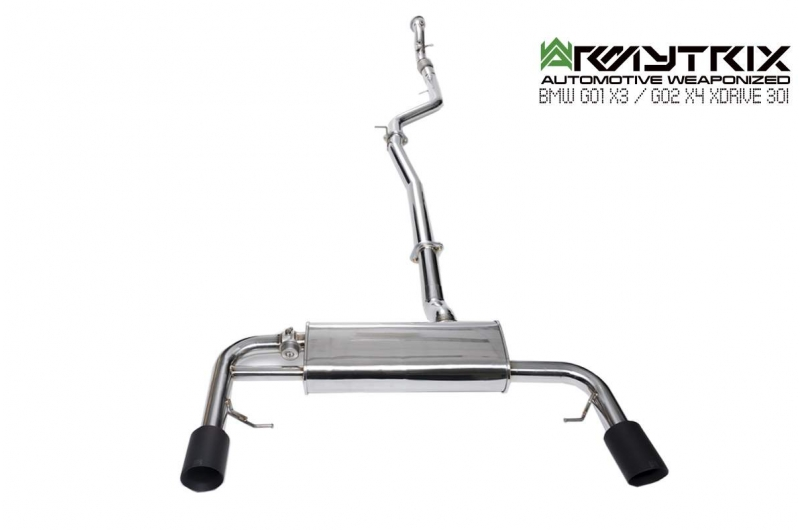 bmw x3 xdrive30i armytrix cat-back exhaust system