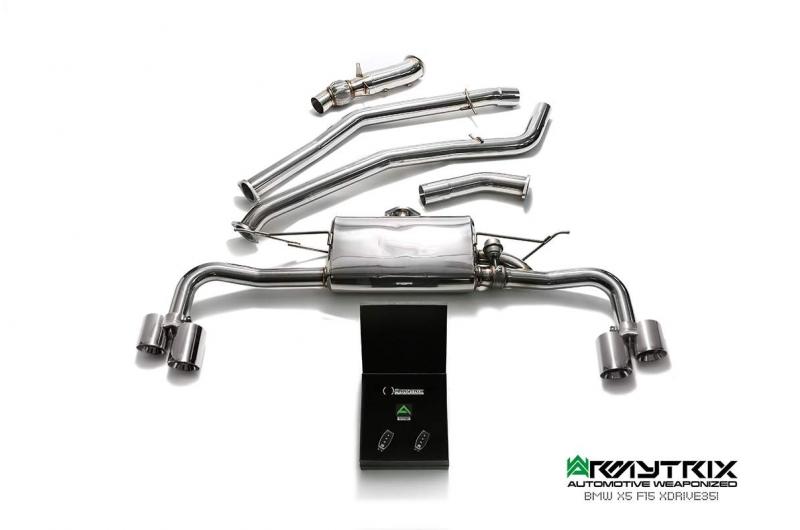 bmw x5 f15 xdrive 35i armytrix valvetronic exhaust