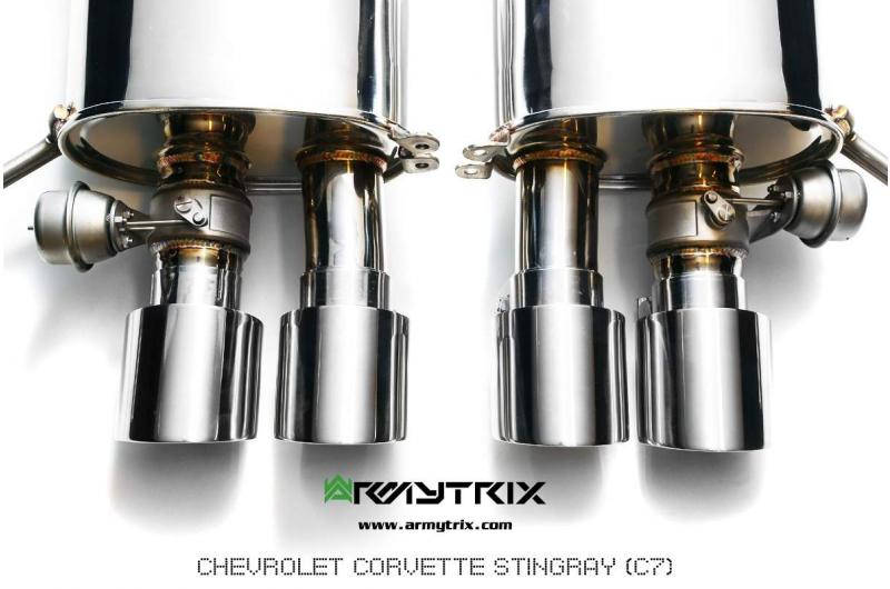 Chevrolet Corvette C7 Stingray Armytrix Exhaust Mods Best