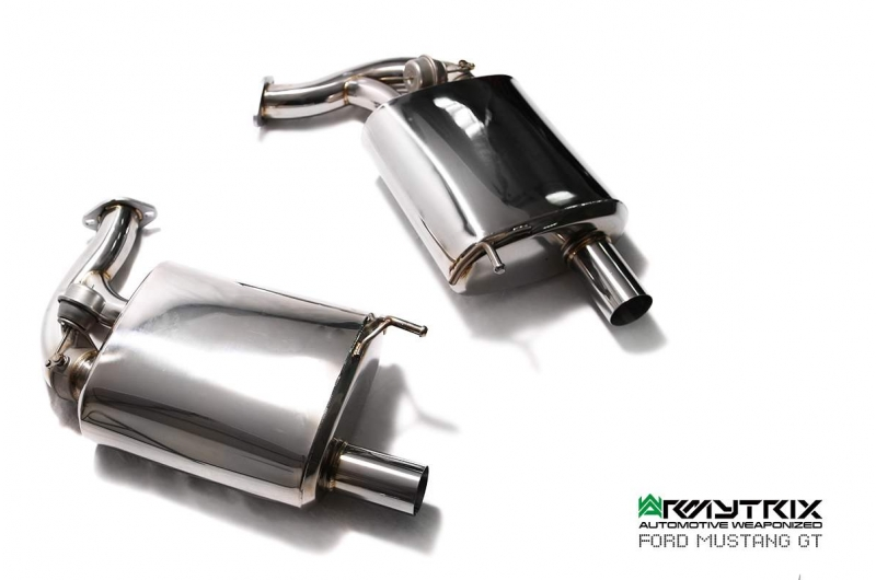 ford mustang gt armytrix valvetronic exhaust
