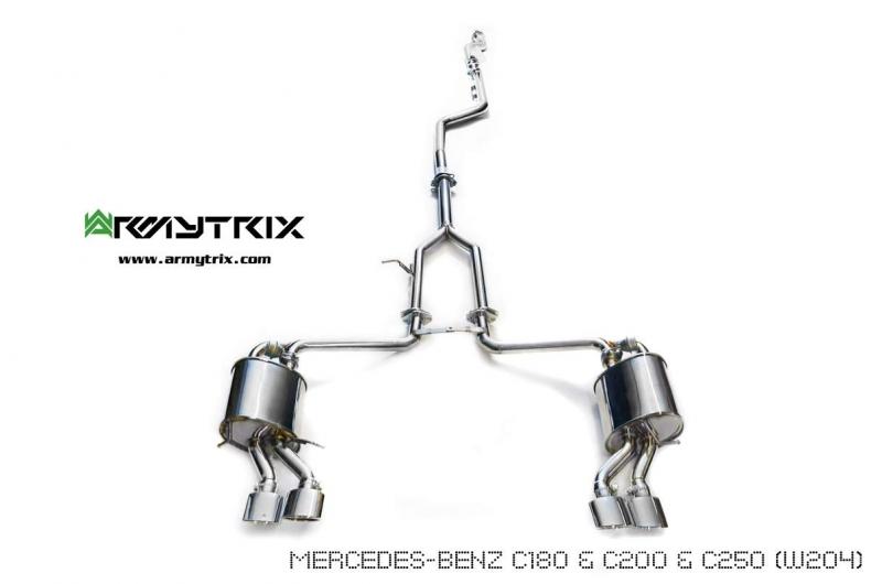 Power 138hp Torque 163nm Weight 0kg: Mercedes C250 Exhaust At Woreks.co