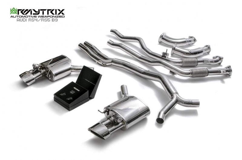 audi rs4 rs5 b9 armytrix valvetronic exhaust