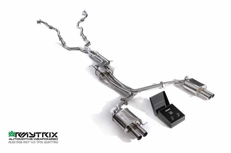 Audi S7 C7 Armytrix Exhaust Mods Best Tuning Review Price