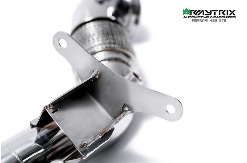 ferrari 488 gtb armytrix valvetronic exhaust