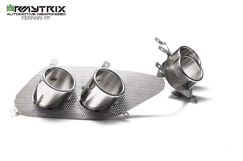 Ferrari FF armytrix exhaust valvetronic