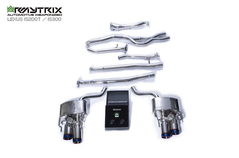 lexus is200t is300 armytrix valvetronic exhaust