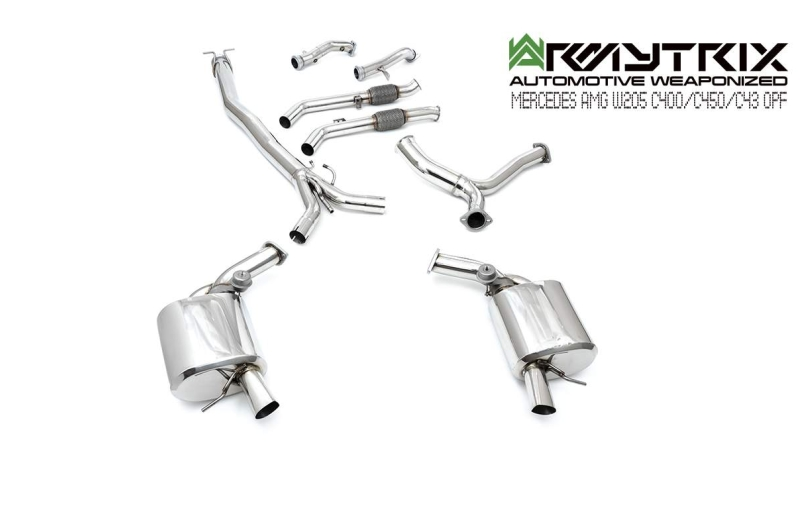 Mercedes | AMG C43 opf | Armytrix Valvetronic Exhaust System