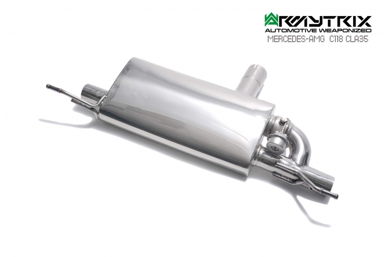 mercedes amg c118 cla35 armytrix exhaust valvetronic