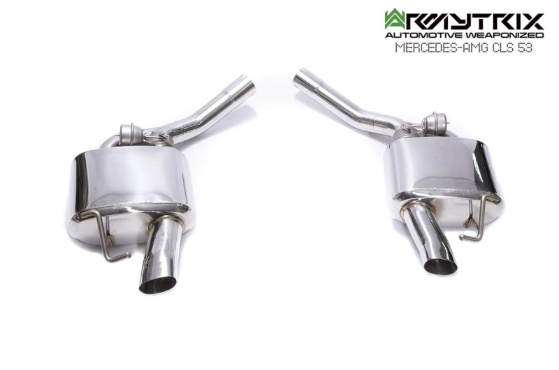 2020 mercedes benz amg C257 cls 53 armytrix exhaust valvetronic
