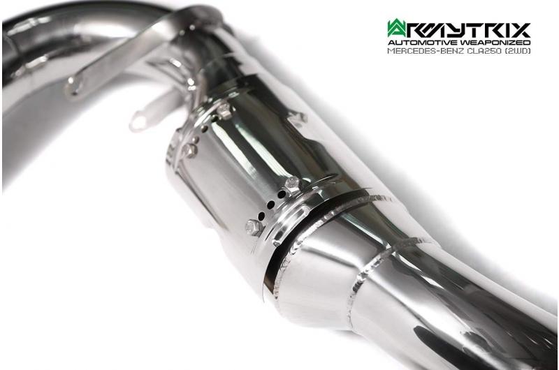 mercedes benz cla250 armytrix valvetronic exhaust