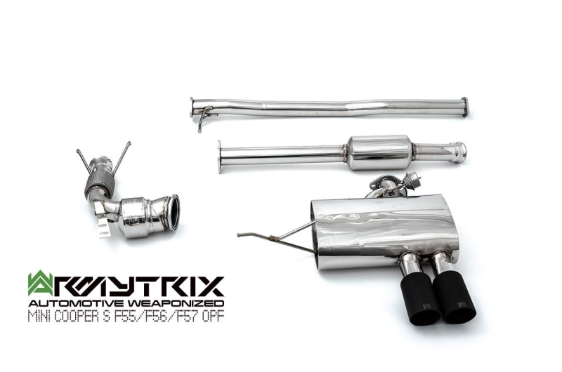 Mini | Cooper S F56  Euro6 | Armytrix Valvetronic Exhaust System