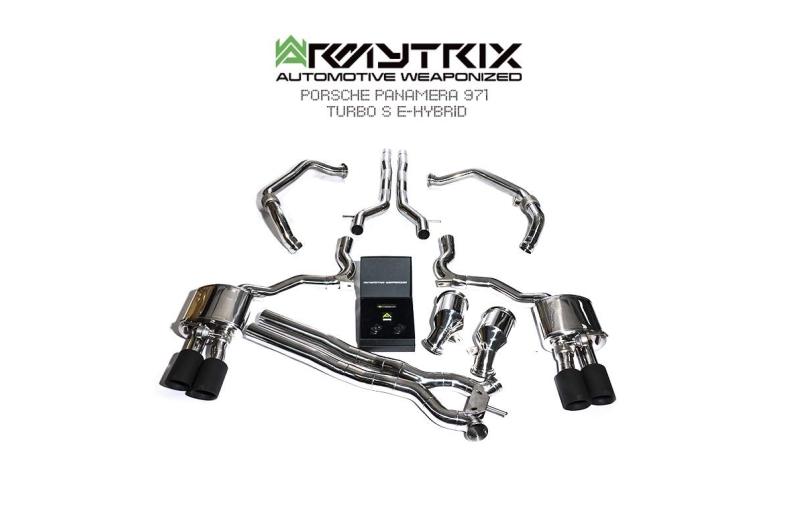 porsche panamera 971 turbo s e hybrid armytrix valvetronic exhaust