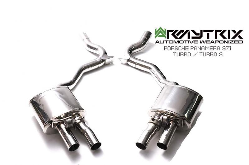 porsche panamera 971 turbo turbo s armytrix valvetornic exhaust