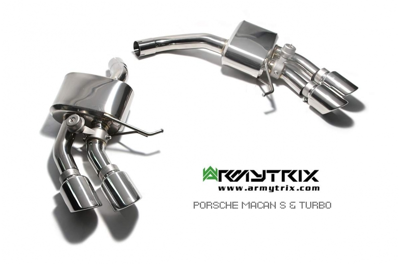 Porsche | Macan S | Armytrix Valvetronic Exhaust System