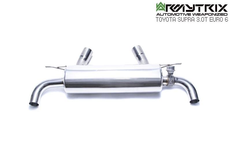 toyota supra mk5 euro6 solenoid valve armytrix exhaust
