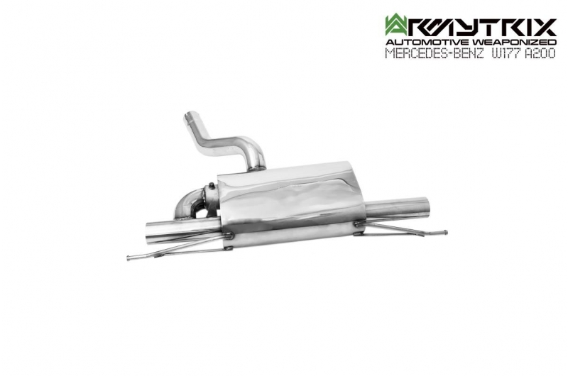 mercedes benz W177 A180 A200 1.4 turbo armytrix valvetronic exhaust